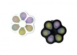 Simple Dimple пупырка 6в1 брелок спинер (цвета в ассортименте)