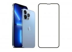 Защитное стекло дисплея iPhone 13 / iPhone 13 Pro (6.1) 5D черное
