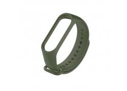 Ремешок силиконовый для XIAOMI MI Band 3/MI Band 4 цвет зеленый