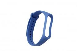 Ремешок силиконовый для XIAOMI MI Band 3/MI Band 4 цвет синий деним