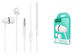 Гарнитура HOCO M34 honor music universal earphones with microphone 3.5мм белый