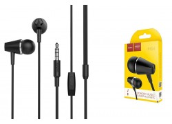 Гарнитура HOCO M34 honor music universal earphones with microphone 3.5мм черный