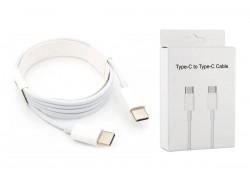 Кабель USB Type-C (M) --> USB Type-C (M) с USB PD (2 метра) ORG