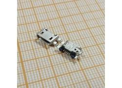 microUSB 2.0 разъем для планшетов Jack022 (5pin) 5шт