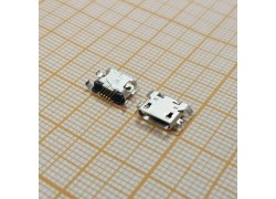 microUSB 2.0 разъем для планшетов Jack032 (5pin) 5шт