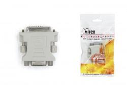 Адаптер-переходник Mirex DVI (M) - VGA (F)