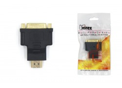 Адаптер-переходник Mirex HDMI (M) - DVI (F)