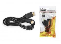 Кабель соединительный Mirex HDMI(M)- mini-HDMI(M) 1 метр (версия 1.4)
