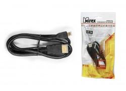 Кабель соединительный Mirex HDMI(M)- miсro-HDMI(M)  1 метр (версия 1.4)