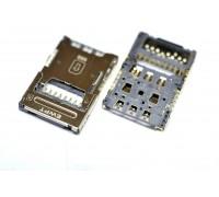 Контакты SIM LG K10 (K410/ K430) + MMC