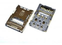 Контакты SIM для LG K10 (K410/ K430)/ K8 (K350e)/ V10 (H961) + MMC
