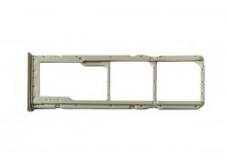 Держатель SIM для Samsung A105/ A205/ A305/ A505/ A705 (белый)