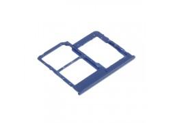 Держатель SIM для Samsung A405 (синий)
