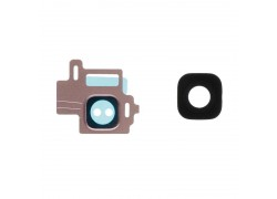 Стекло камеры для Samsung G950F Galaxy S8 + рамка (розовый)