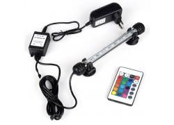 Лампа аквариумная Огонек OG-LDP03 RGB (пульт, 180 мм)