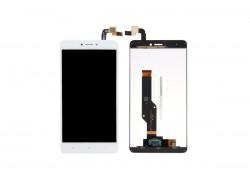 Дисплей для Xiaomi Redmi Note 4X в сборе с тачскрином (белый) (у телефона отсутствуют винты снизу)