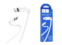 HOCO X62 Fortune PD Fast charging data cable for Lightning 1м белый