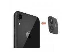 Защитная рамка-муляж камеры iPhone XR для переделки в iPhone 11 (6.1) черная
