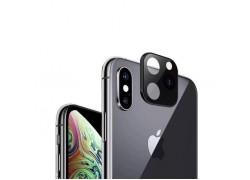 Защитная рамка-муляж камеры iPhone X/XS для переделки в iPhone 11 Pro (5.8) черная
