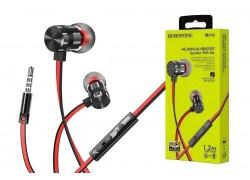 Наушники BOROFONE BM48 Acoustic universal earphones 3.5мм цвет черный