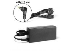 Зарядное устройство для ноутбука HP 18.5V 3.5A коннектор 4.8 х 1.7 сетевое