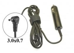 Автомобильное зарядное устройство для ноутбука Samsung 19V 2.1A коннектор 3.0 х 0.7