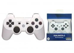 Геймпад беспроводной для Sony PlayStation 3 (упаковка картон) белый