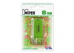 USB 3.0 флэш-накопитель  8 ГБ  Mirex CHROMATIC GREEN 8GB (ecopack)