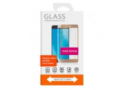 Защитное стекло дисплея iPhone 6+/6S+ (5.5) 5D белое