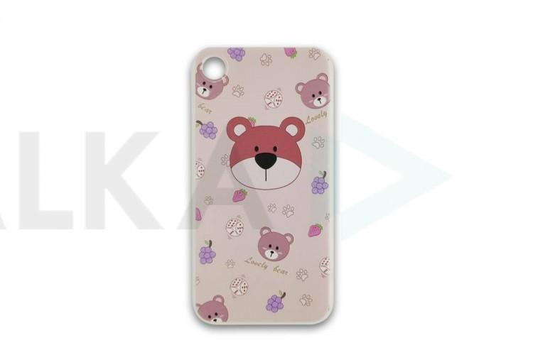 """Чехол силиконовый для iPhone 7/8 (4,7) с рисунком """"Животные"""" 6 видов"""