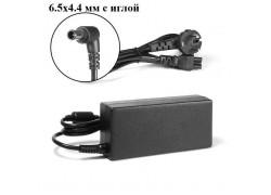 Зарядное устройство для ноутбука Sony 19.5V 3.3A коннектор 6.5 х 4.4 с иглой
