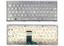 Клавиатура для ноутбука Sony Vaio VPC-W серебристая