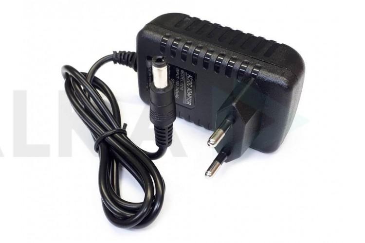 Зарядное устройство 12,0V, 1,5А, 5,5*2,5мм (LCD001)