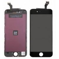 Дисплей для iPhone 6 (4.7) в сборе с тачскрином и рамкой (черный)