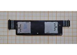 Шлейф для ASUS A450CG ZenFone 4 с двумя контактами Sim