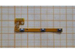 Шлейф для Lenovo S850 с кнопкой включения, кнопки громкости