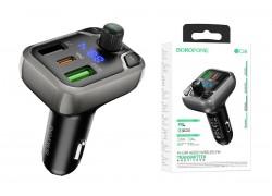 USB MP3 плеер +FM трансмиттер с диспл. BOROFONE BC38 Flash Energy PD20W+QC3.0 car BT FM transmitter