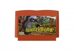 Картридж 8 bit JUNGLE BOOK Книга джунглей (русская версия)