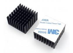 Аллюминиевый радиатор 28х28х15 мм с термоскотчем