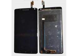 Дисплей для Lenovo S930 в сборе с тачскрином + рамка (черный)