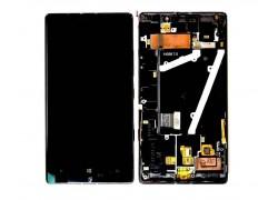 Дисплей для Nokia 930 Lumia (RM-1045) в сборе с тачскрином + рамка (черный)
