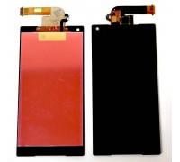 Дисплей для Sony E5823, E5803 Xperia Z5 Compact (черный) (в сборе с тачскрином)
