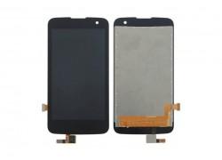 Дисплей для LG K4 LTE (K130E) в сборе с тачскрином (черный)