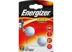 Батарейка литиевая Energizer Lithium CR2430 BL2 блистер цена за 2 шт