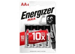 Батарея щелочная Energizer MAX LR6/316 AA BL4 блистер цена за 4 шт