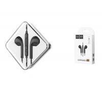 Наушники HOCO M55 Memory sound wire control earphones with mic черная