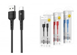 Кабель USB micro USB HOCO X30 Star Charging data cable  (черный) 1 метр