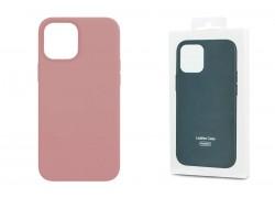 Чехол для iPhone 12 Pro Max (6,7) Leather Case розовый