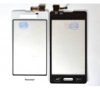 LG E450 Optimus L5 II (белый) - тачскрин, сенсорное стекло