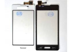 Тачскрин для LG E450 Optimus L5 II (белый) (сенсорное стекло)